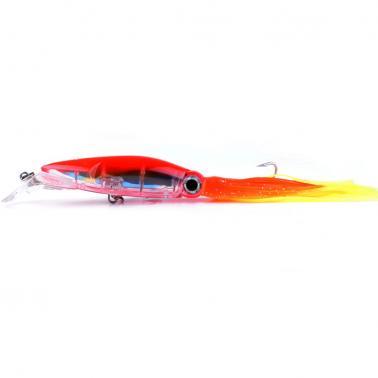 14cm / 40g Bionic Squid Baits Artificial Fishing Lures Hard Squid Skirts Octopus Lure Trolling Fishing Baits Fishing Tac