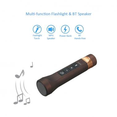 Multi-functional 4-in-1 LED Flashlight Torch
