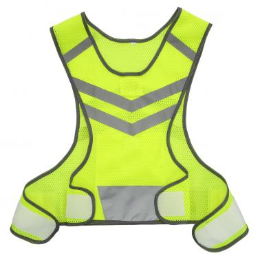 Outdoor Sports Running Reflective Vest Adjustable Lightweight Mesh Safety Gear for Women Men Jogging Cycling Walking