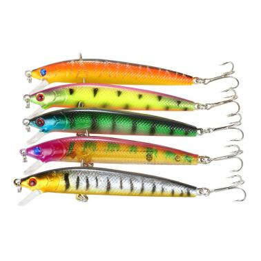 Pack of 71pcs Mixed Fishing Lure Set Kit Minnow Lures Crankbaits Artificial Hard Lure Bait Bass Carp Fishing Tackle
