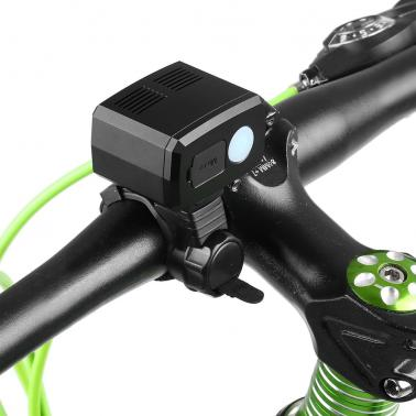 Aluminum Bicycle Headlight Front Light Lamp USB Rechargeable LED Bike Light Super Bright Bike Headlamp