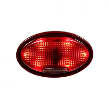 Bright Bicycle Tail Light Laser Light Waterproof Safety Warning Rear Light Red LED Bike Light