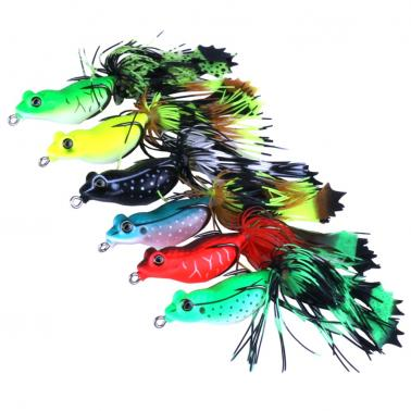 5.5cm / 13g Fishing Lures Soft Bait Hollow Body Lure with Hook Tassel Tail