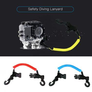 Safety Diving Lanyard Coiled Lanyard