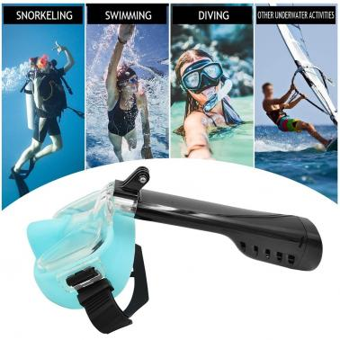 Anti Fog Underwater Scuba Diving Snorkeling Mask Set Silicone Tube Snorkel Mask Swimming Training Diving Mask