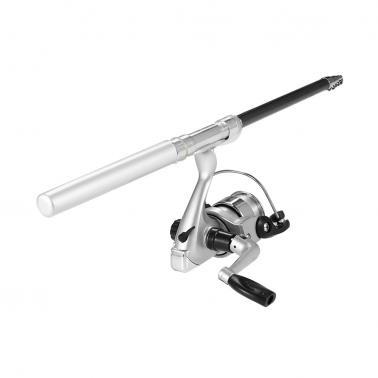Pen Fishing Rod and Reel Combo Set Mini Telescopic Pocket Fishing Rod Spinning Reel Fishing Line Soft Lures Baits Jig Ho
