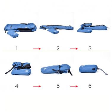 ANMEILU 18L Ultralight Foldable Waterproof Backpack