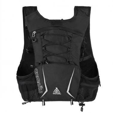 5L Multi Pocket Outdoor Reflective Running Vest Backpack Insulted Hydration Vest Pack Bag Marathon Jogging Hiking Cyclin