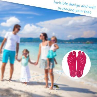 Quick Drying Invisible Barefoot Anti-slip Adhesive Sticker Sock