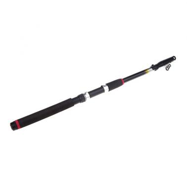 2.1M 6.89FT Portable Telescopic Fishing Rod Travel Spinning Fishing Pole Glass Fiber
