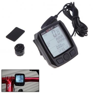 BoGeer YT-833 Imported Sensors LCD Backlit Bicycle Speedometer Odometer Computer Rainproof