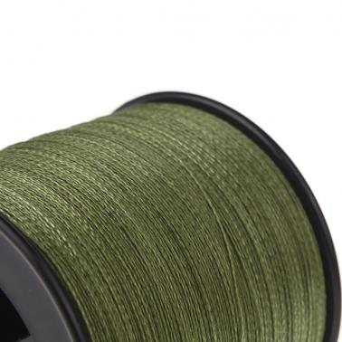500M 30LB 0.26mm Fishing Line Strong PE Braided 4 Strands Green
