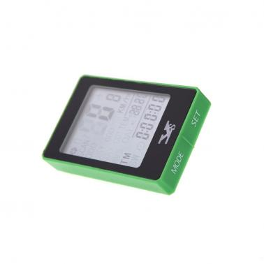 Wireless Bike Bicycle Cycling Computer Odometer Speedometer Touch Button LCD Backlight Backlit Water-resistant Multifunc