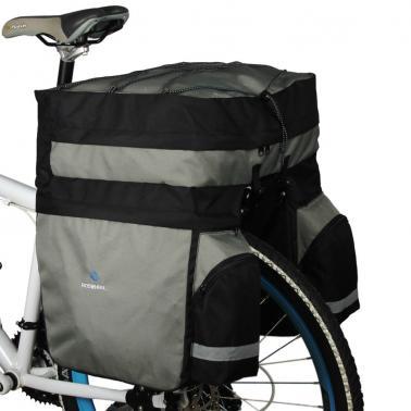 ROSWHEEL 60L Cycling Bicycle Bag Bike Double Side Rear Rack Tail Seat Trunk Bag Pannier