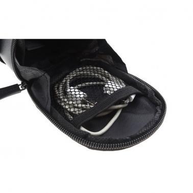 Roswheel Bicycle Strap-On Bike Saddle Bag-Black