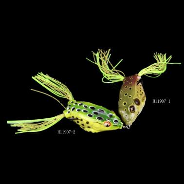 13g / 6cm  Fishing Lure Lifelike Frog Hollow Body Soft Bait Fishing Tackle