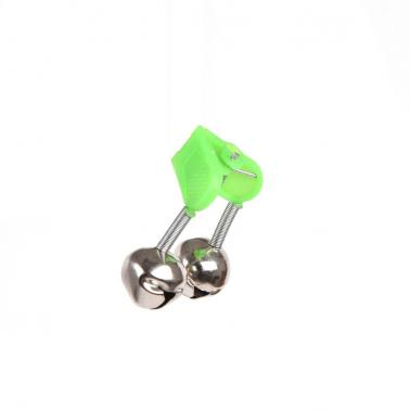 50Pcs 4.5cm Outdoor Twin Bells Ring Fishing Rod Clamp Bite Lure Alarm