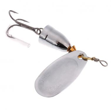 6cm 8g Fishing Lure Vibration Hard Bait Metal Spinner Spoon with Hook Fishing Tackle