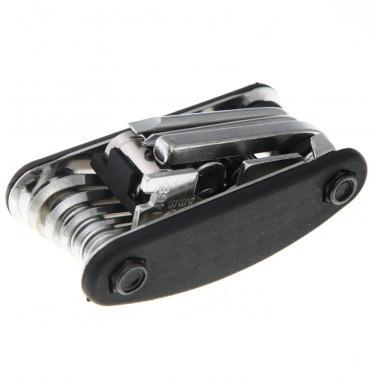 16 in 1 Mountain Bicycle Tools Set Bike Multi Repair Tool Kit Hex Spoke Wrench Mountain Cycle Screwdriver Carbon Steel