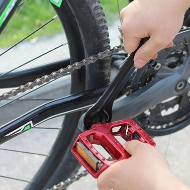 Cycling Repairing Tool Bike Bicycle Head Open End Axle Hub Cone Wrench Spanner Portable Steel 13/14/15/16mm