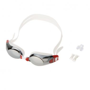 Fashion Unisex Water Sportswear Anti-fog UV Shield Protection Waterproof Eyewear Goggles Swimming Glasses with Ear Plugs