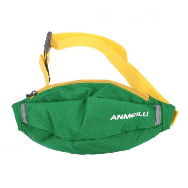 New ANMEILU Portable Slanting Cross Bag Outdoor Sports Waist Bag Sports Waist Pack Mountaineering Hiking Bag Travelling