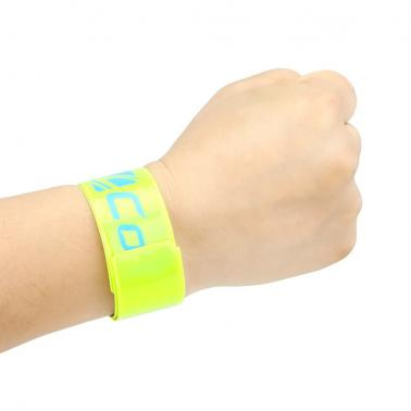 Cycling Reflective Strip Warning Bike Safety Tape Bicycle Bind Pants Band Leg Strap Wristband